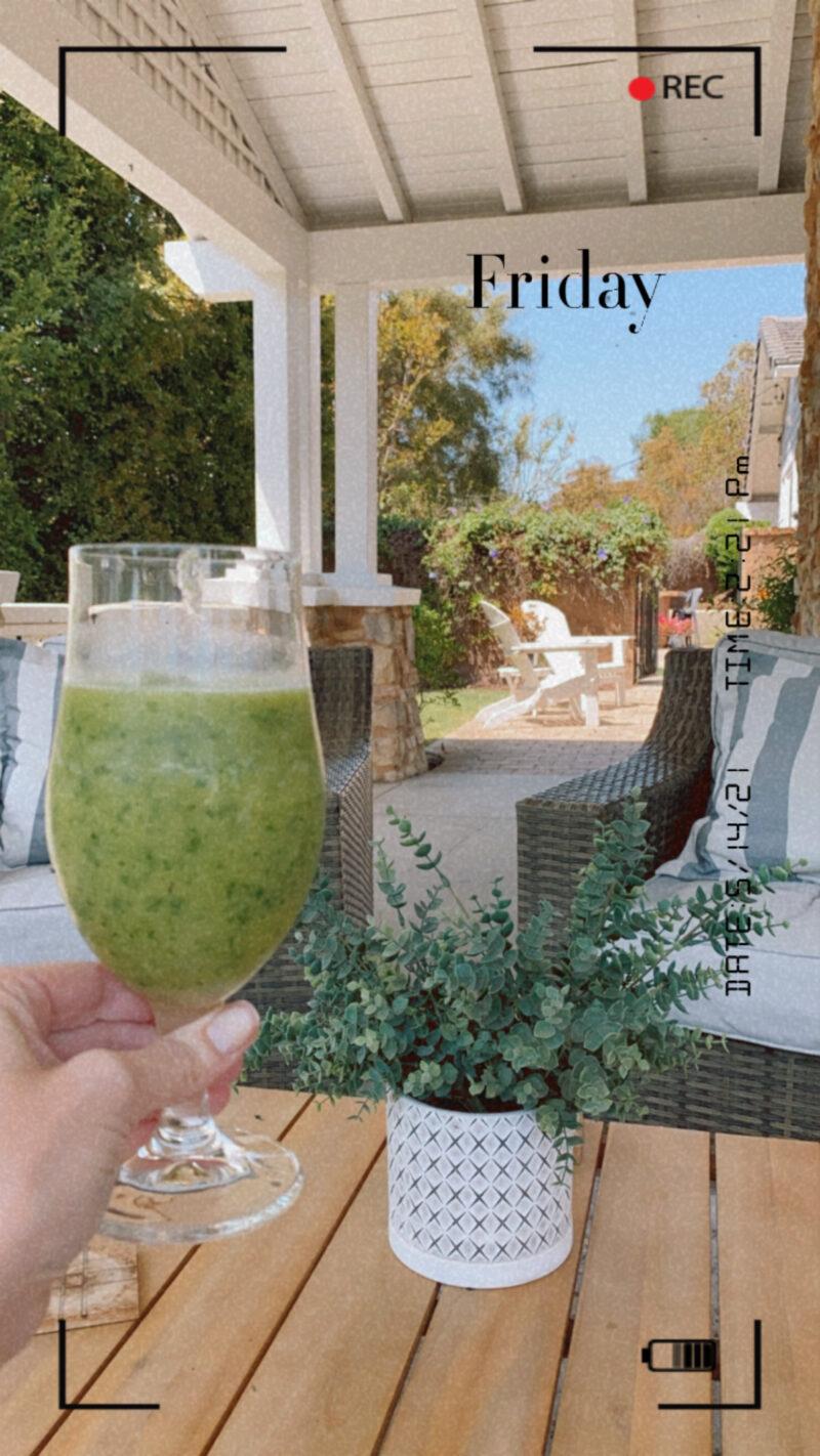 green drink monday morning