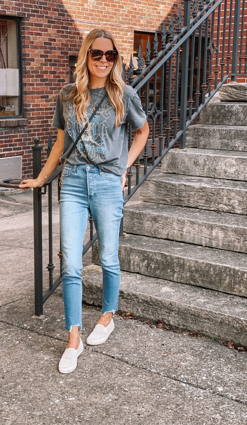 fall look dressed down