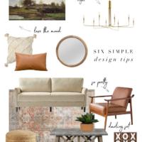six simple design tips