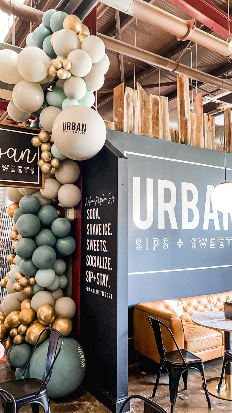 urban sips sofa