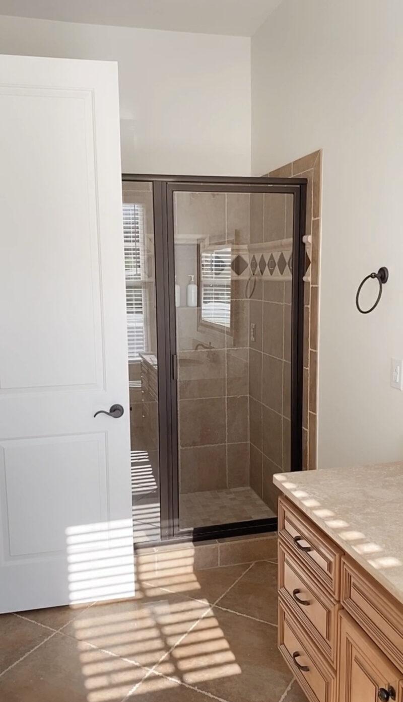 shower guest bathroom